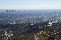 Vista Los Angeles dal Monte Hollywood