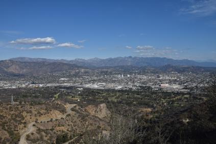 Valle dietro Los Angeles
